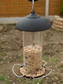 Modern Bird Feeder — Stock Photo