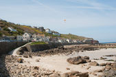 Sennen Cove Village View — Fotografia Stock