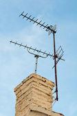TV Aerials — Stock Photo