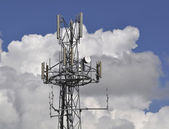 Communication Antennae — Foto Stock