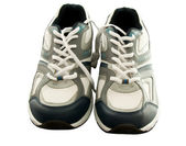 Trainers front view — Stock Photo