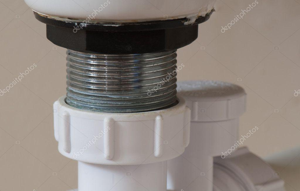 waschbecken abfluss reparieren — stockfoto © imager #6125735 ~ Waschbecken Riss Reparieren