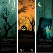 banderas de Halloween — Vector de stock #6057662