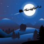Blue Christmas headers — Stock Vector