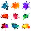 Royalty-Free Stock Vector Image: Paint splat