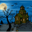Halloween background — Stock Vector #6059276