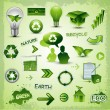Royalty-Free Stock Vector Image: Environment recycle elements