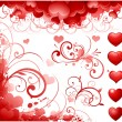 Valentines day elements — Imagen vectorial