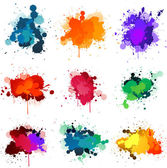 Paint splat — Vector de stock