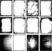 Grunge 帧 — 图库矢量图片