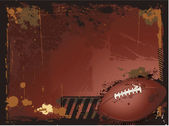 Grunge american football background — Stock Vector
