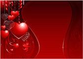 San valentino sfondo — Vettoriale Stock