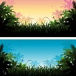 Royalty-Free Stock Immagine Vettoriale: Jungle banner