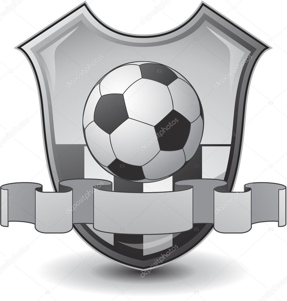 足球徽标团队会徽— vector
