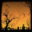 Halloween background — Stock Vector #6434182