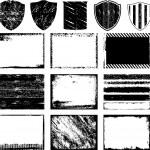 Various grunge frame vector — Stock Vector #6434431