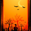 Halloween background — Stock Vector #6434869