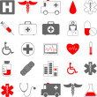 Medical icons — Stock Vector #6434907