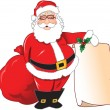 Santa claus background — Stock Vector #6435378