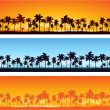 Tropical background - Vettoriali Stock