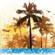 Tropical background — Stock Vector #6435642