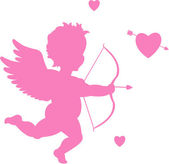 Cupid illustration — Vector de stock