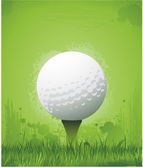 Sfondo di golf — Vettoriale Stock
