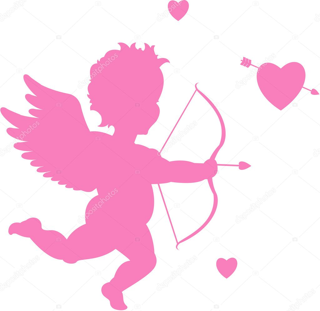 Valentine's day cupid — Stock Vector #6434553