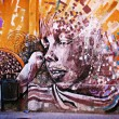 Graffiti en Barcelona - Stock Photo