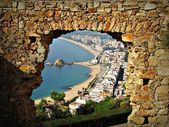 Mirando a Blanes — Stock Photo