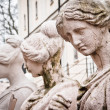 Statue of four women — Stock Photo