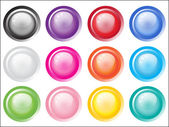 Abstract vector buttons for design registration a site web - — Stock Vector