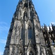 Royalty-Free Stock Photo: A street view of Cologne Cathedral.