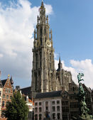 A view of Antwerp, Belgium — Stock Photo