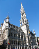 A view of Brussels, Belgium — 图库照片