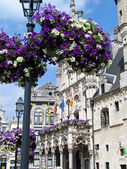 Street view of Ghent, Belgium. — Stock Photo