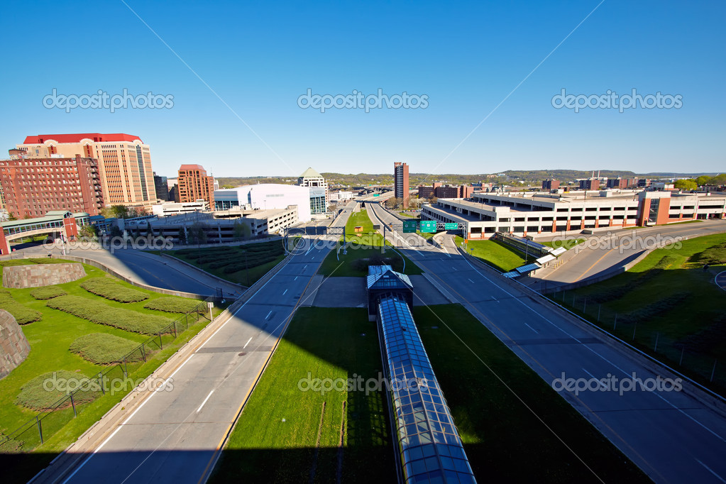 View of Albany, Capital of New York State. — Stock Photo #6090954