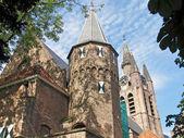 Street view of Hague, Netherlands. — Stock Photo