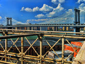 Manhattan Bridge. — Stock Photo