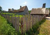 Pohled na starobylé vesnice. — Stock fotografie