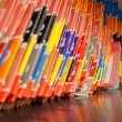 Medical Records folders. - Foto Stock