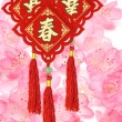 Traditional Chinese New Year ornaments - Stok fotoraf
