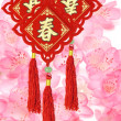 Traditional Chinese New Year ornaments - Stock Photo