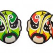 Colorful Chinese opera face masks — Stock Photo #6083017
