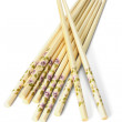 Bundle of Chinese chopsticks — Stock Photo