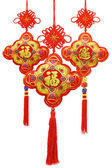Chinese new year ornaments — Stock Photo