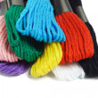 Colorful embroidery threads — Stock Photo #6135209
