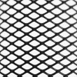 Black wire mesh pattern — Stock Photo