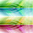 abstract colorful banners — Stock Photo