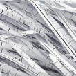 Royalty-Free Stock Photo: Shredded waste paper strips
